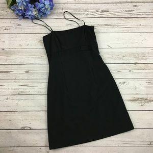 Elie Tahari Little Black Dress Wool Blend Size 0